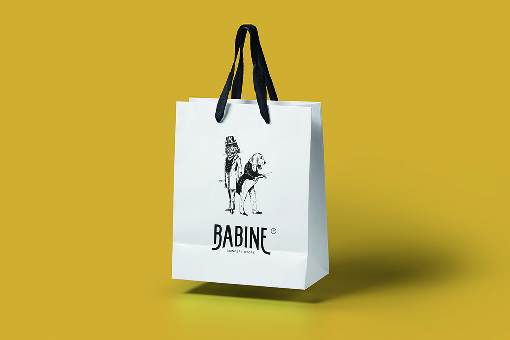 babine concept store packaging