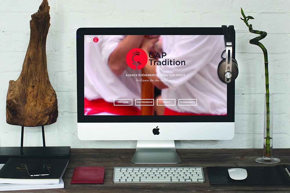 Cap Tradition webdesign
