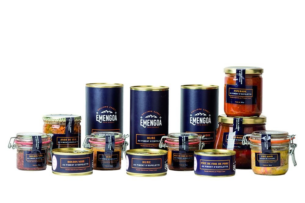 Emengoa création de logo et packaging