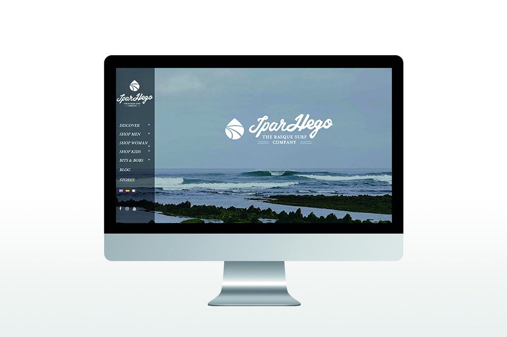 webdesign du site internet IparHego