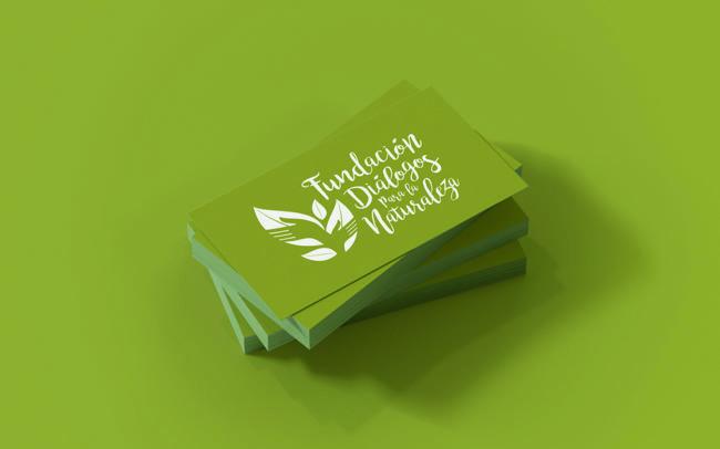 Fundacion Dialogos para la Naturaleza création de logo